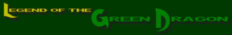 The Legend of the Green Dragon Logo